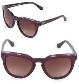 Diane von Furstenberg 55MM Square Sunglasses