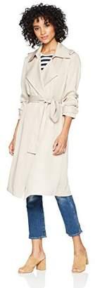 Bagatelle Women's Lyocell Trench Coat