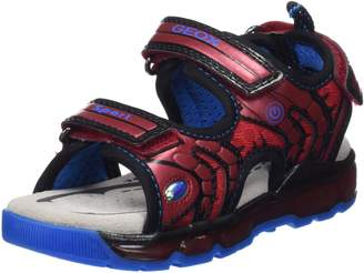 Geox Boy's J Sandal Android BOY Flat Sandals