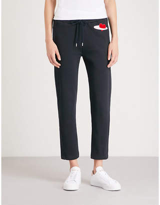 Markus Lupfer Daria cotton-jersey jogging bottoms