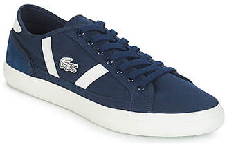 60fddfde5 Mens Lacoste Trainers Blue - ShopStyle UK
