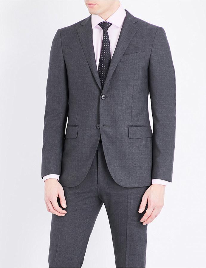 CornelianiCorneliani Slim-fit notch lapel pure-wool jacket