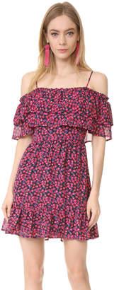WAYF Daria Ruffle Off Shoulder Dress $99 thestylecure.com