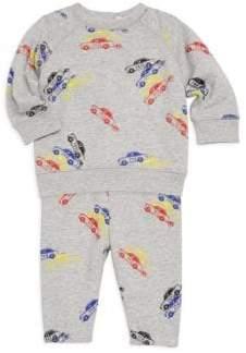 Stella McCartney Baby Boy's Car Print Two-Piece Tee& Pants Set