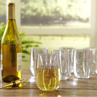 Birch Lane Monogrammed Tritan 11.5 Oz. Stemless Wine Glass