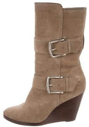 Frye Wedge Mid-Calf Boots
