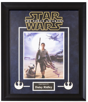 Box Office Smash Star Wars: Episode VII The Force Awakens Signed Photograph