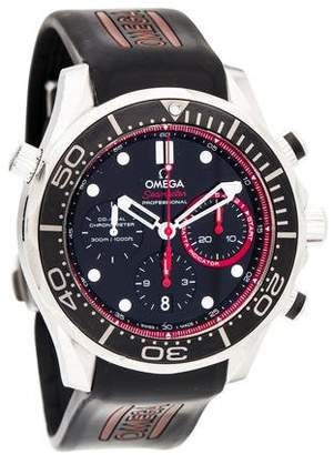 Omega Seamaster Diver Co-Axial Chronograph Watch