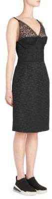 Stella McCartney Tess Lace Corset Sheath Dress