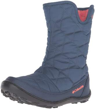 Columbia Unisex Children's Youth Minx Slip Omni-Heat Waterproof Boot Size 4 M