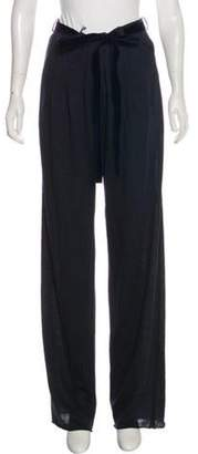 Lanvin Wool Wide Pants w/ Tags Indigo Wool Wide Pants w/ Tags