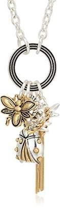 Napier Womens Critter Charm Long Pendant Necklace