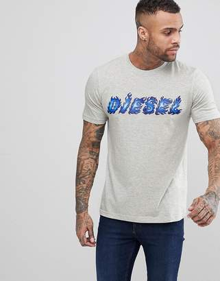 Diesel T-Just-Sh Flame Logo T-Shirt