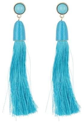 Ettika Silk Tassel Earrings