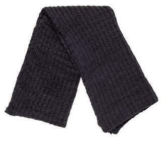 The Elder Statesman Cable Knit Scarf