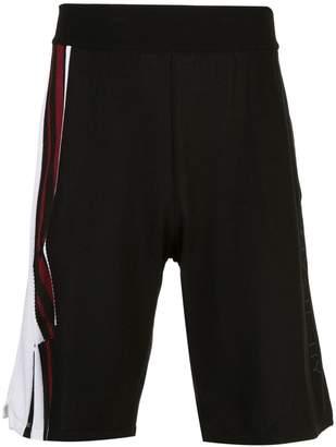 Givenchy stripe detail shorts