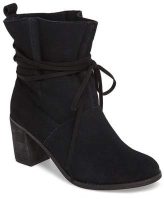 Toms Mila Leather Bootie