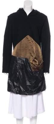 Prada Sport Wool Knee-Length Coat