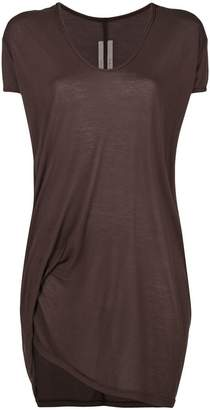 Rick Owens draped v-neck T-shirt
