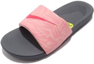 86f0bba6cb131a at Amazon Canada · Nike Kawa Slide Print Big Kids