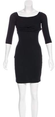 L'Agence Off-The-Shoulder Min Dress w/ Tags