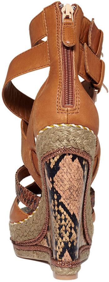 Boutique 9 Shoes, Gyda Platform Wedge Sandals