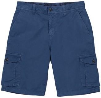 Panareha Crab Cargo Shorts in Blue