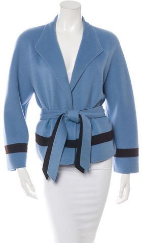ValentinoValentino Belted Wool Coat