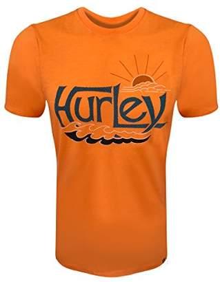 Hurley Men's Short Sleeve Logo Graphic Tee