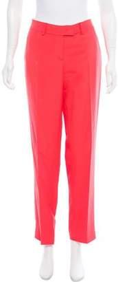 Fendi Mid-Rise Silk-Blend Pants