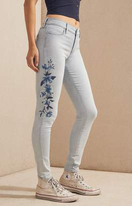 PacSun Vista Blue Perfect Fit Jeggings