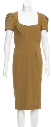 Zac Posen Cap Sleeve Midi Dress w/ Tags