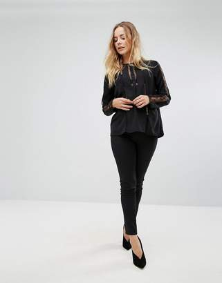 French Connection Glass Stretch Jodphur Leggings