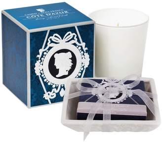Seda France Cameo Cote D'Azur Boxed Candle & Soap Gift Set