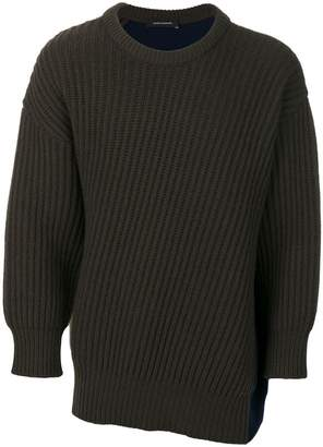 Cédric Charlier colour-block sweater