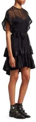 Zimmermann Illusion Polka Dot Mini Dress