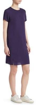 Theory Silk T-Shirt Dress