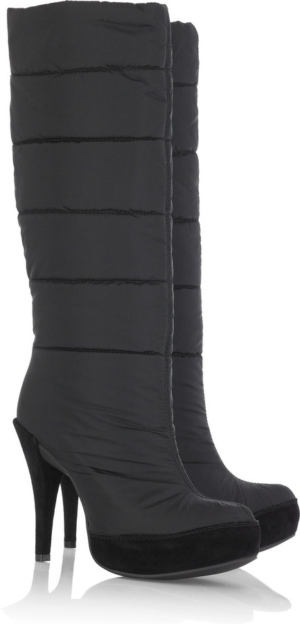 Pedro Garcia Agatha quilted boots