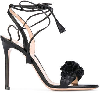 high heeled stiletto sandals