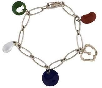 Tiffany & Co. Multistone Five-Charm Bracelet