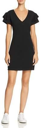 Pam & Gela Ruffle-Sleeve Tee Dress