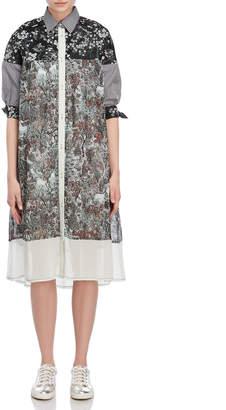 I'M Isola Marras Mixed Print Shirtdress