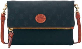 Dooney & Bourke San Francisco Giants Embossed Nylon Foldover CrOSsbody