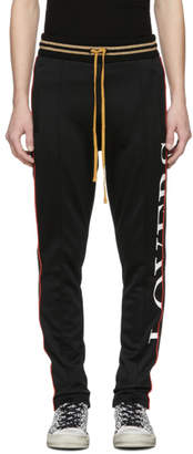 Amiri Black Lovers Track Pants