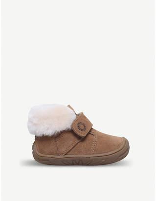 UGG Jorgen suede and sheepskin boots