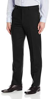 Hart Schaffner Marx Men's New York Fit Flat Front Dress Pants