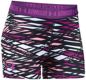 Under Armour Girls HeatGear Armour Printed Shorts
