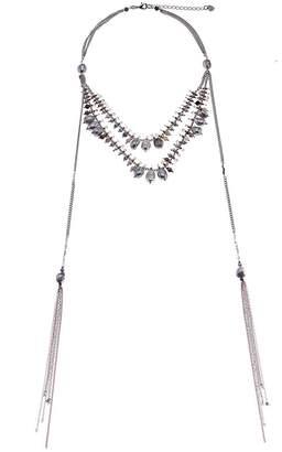 Nakamol Rose Pearls Lariat