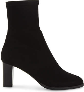 LK Bennett Kayla stretch-suede ankle boots