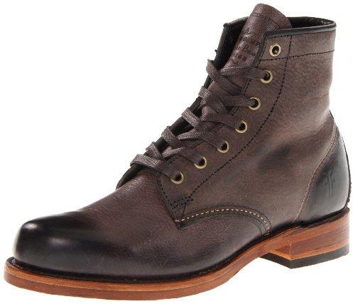 Frye Men's Arkansas Mid Leather Boot,Brown,10.5 M US
